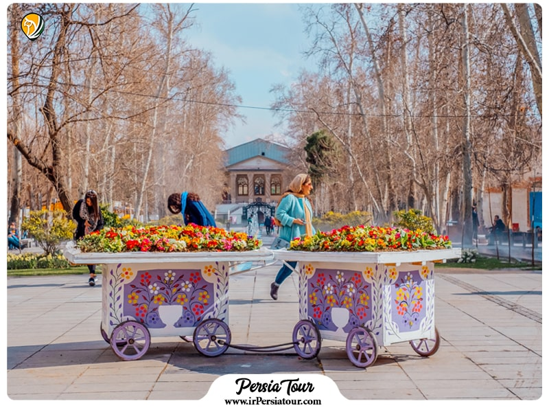 Iran weather in spring