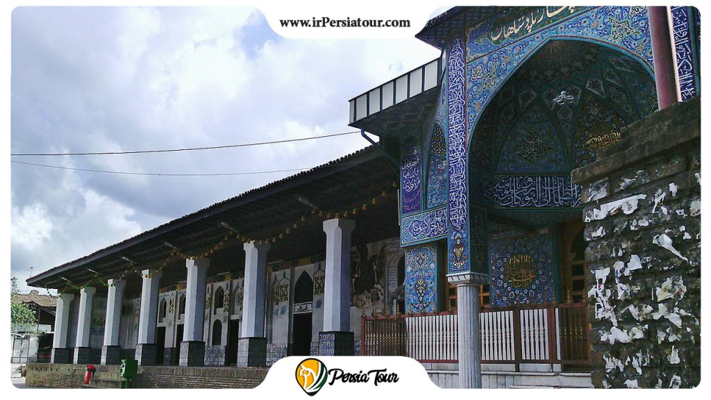 The for kings mosque Gilan Province